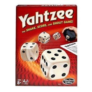 HASBRO GAMING Yahtzee Board Game